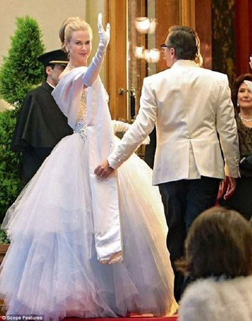 Nicole Kidman as Princess Grace