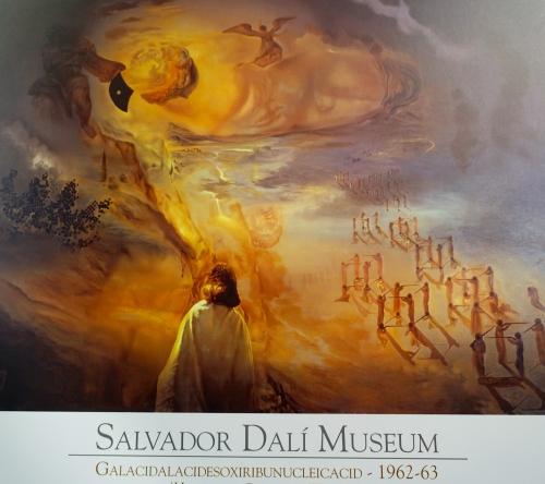 Salvador Dalí painting