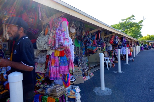 Souvenir shops by Fort Fincastle