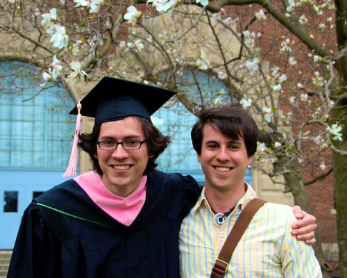 Stephen and Joel