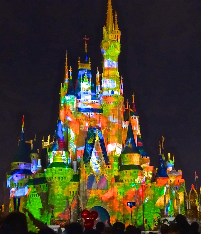 Cindarella's Castle Illuminated JPG