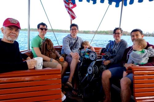 Cruising on Bay Lake