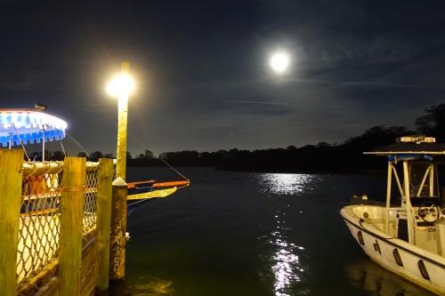 Full Moon on Bay Lake