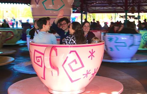 Magic Kingdom Tea cup Ride
