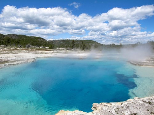 Pools in Yellowstone