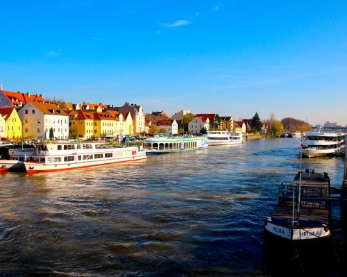 Regensburg on Danube