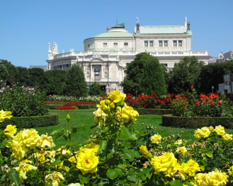 Roses at Hofburg Palace