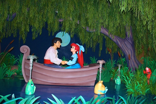 Under the Sea. Ariel and Eric