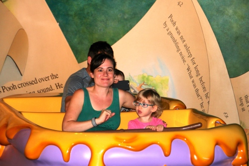 Winnie the Pooh at Disney