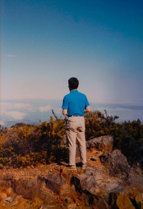 Alan on Mt. Haleakala 1993