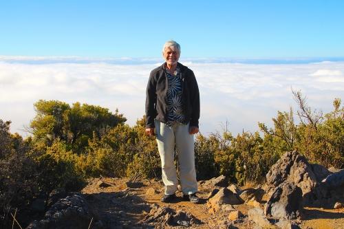Alan on Mt. Haleakala