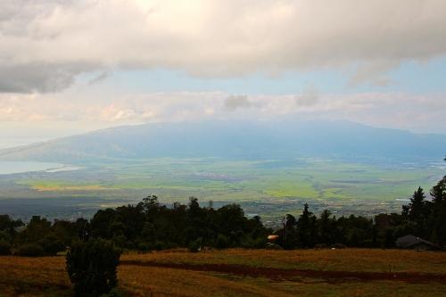 Clouds surrounding Mt. Haleakala