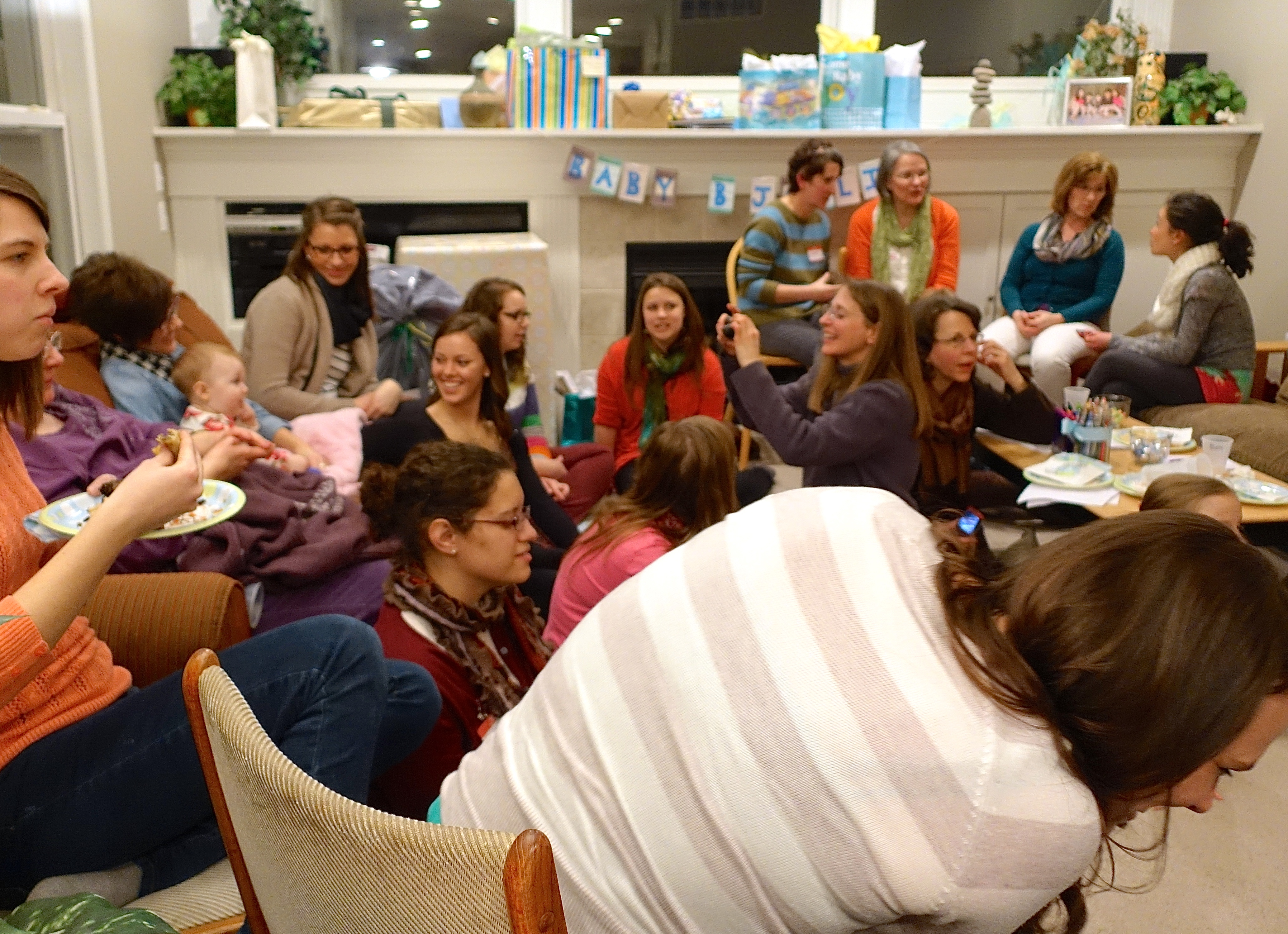 baby shower devotional thoughts for a new mom preparing for