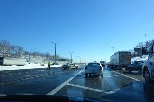 Exiting I-294