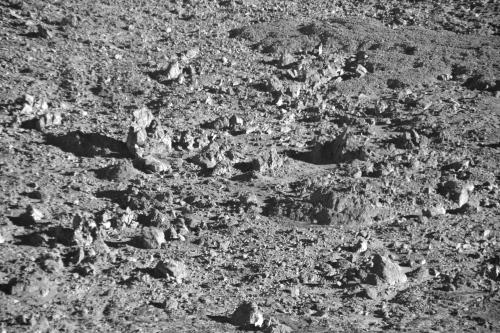 Floor of Mt. Haleakala Valley