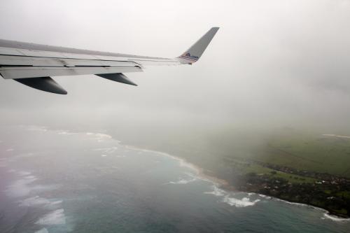 Leaving Maui