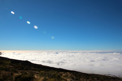 Mt. Haleakala View of Clouds