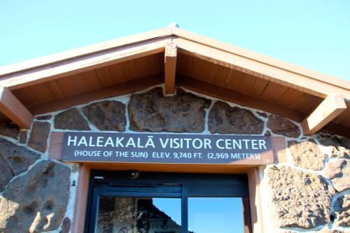 Mt. Haleakala Vistor Center near top