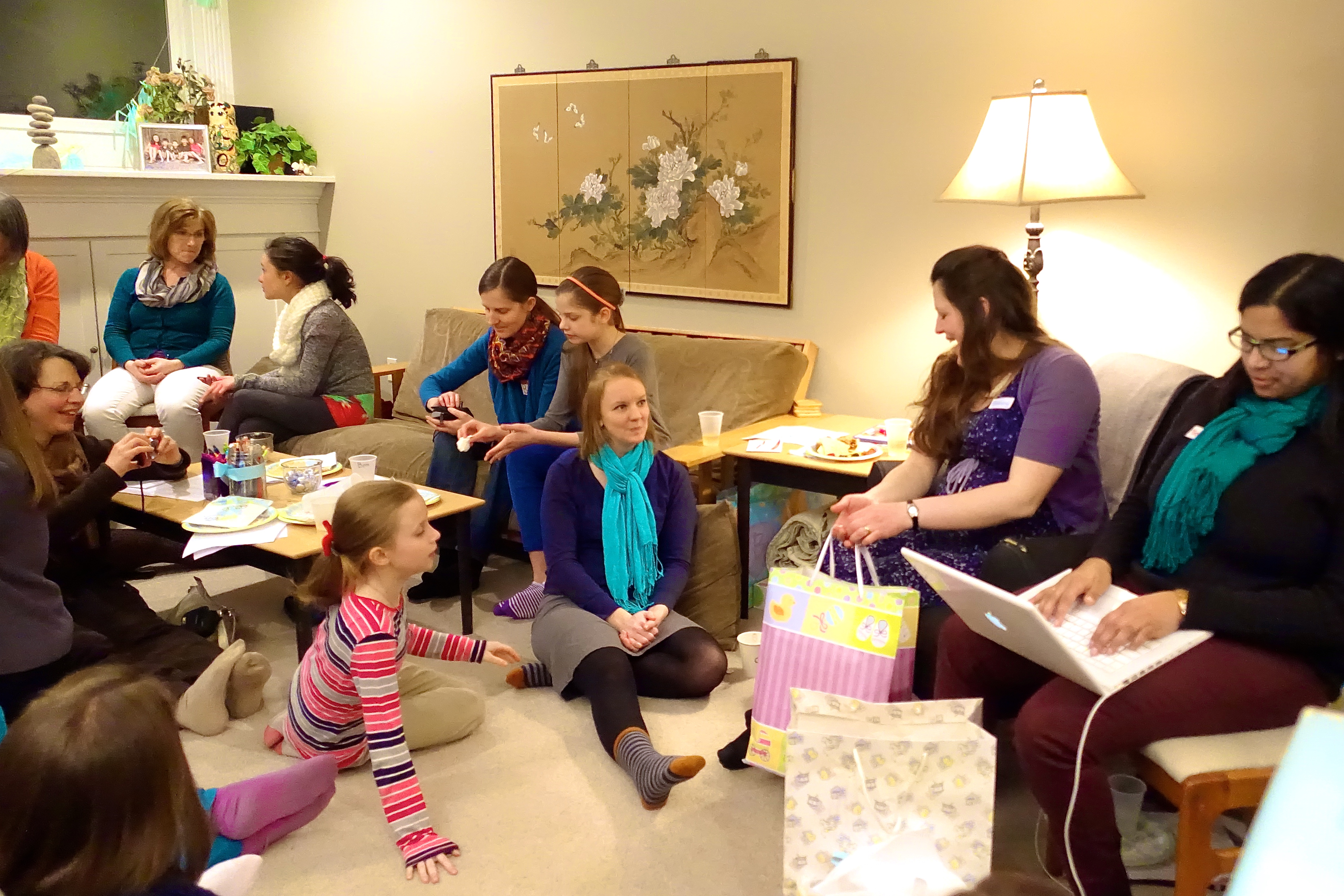 Opening Wedding Gifts: Baby Shower Devotional; Thoughts For A New Mom; Preparing