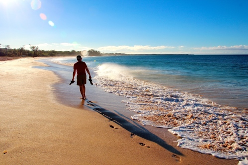 Sunrise Walk on Big Beach, Maui