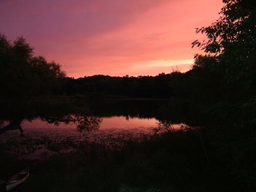 Sunset on Lake copy