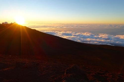 Sunset on Mt. Haleakala