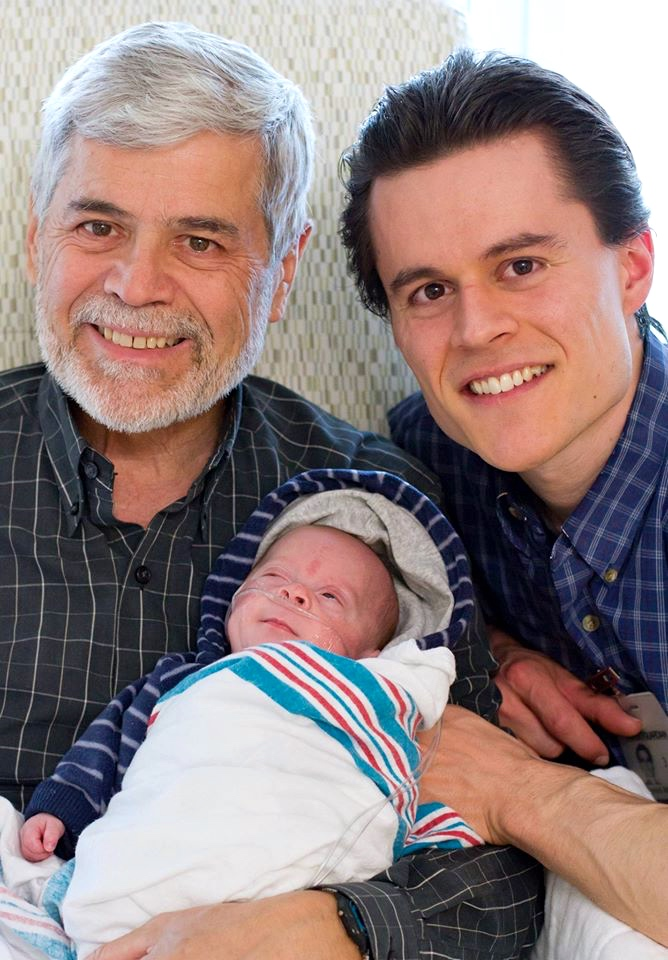 Three generations of Armstrong