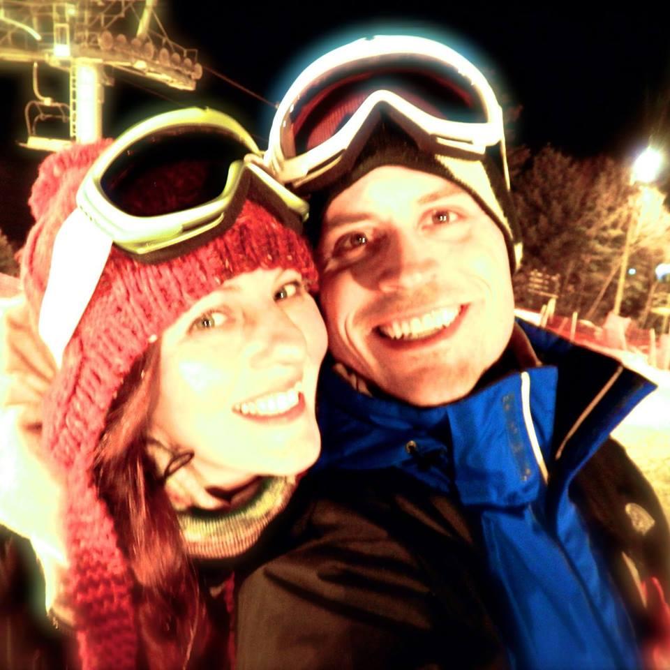 Valentine's Skiing