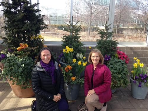 Cindi and I at Meijer Garden 03.15 copy