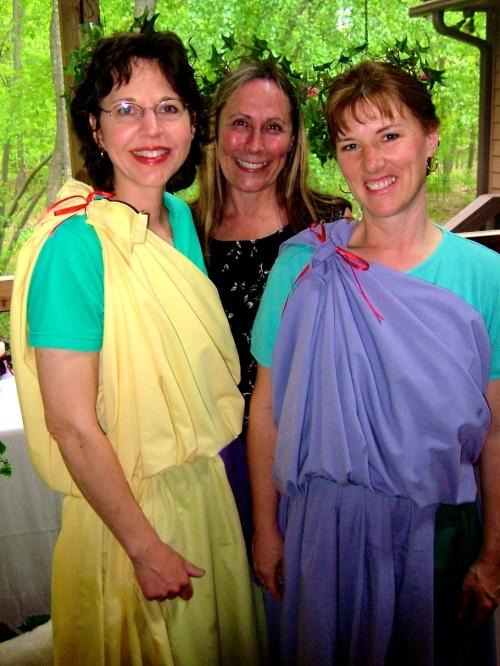 Cindi, Susan, and Me. 2003jpg