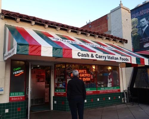 Fillipi's. San Diego