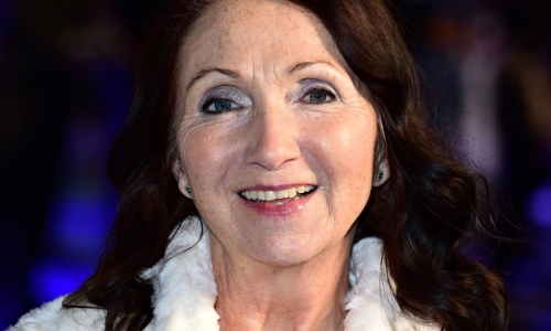Jane Hawking, Stephen Hawking's first wife, at Theory of Everything Premiere