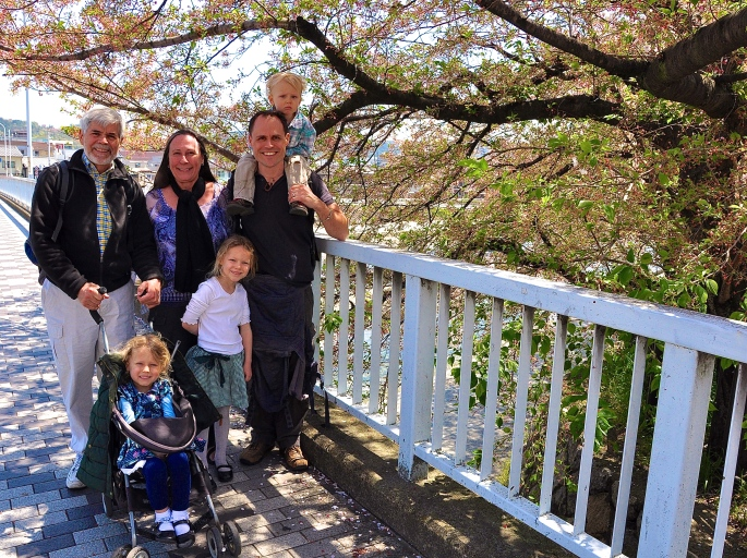 Kyoto Overhung with Cherry Blossoms