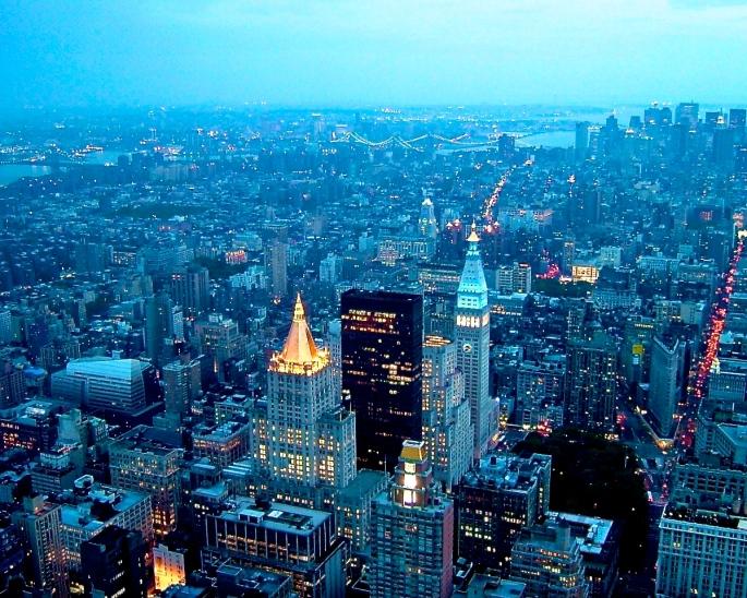 NYC Skyline 1.1.2003