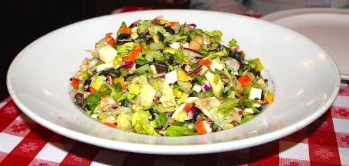 Salad. Chopped Italian