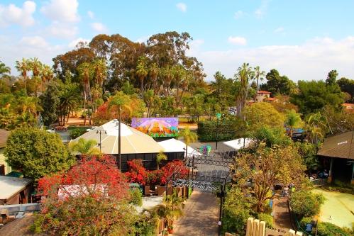 San Diego Zoo from Skyfari
