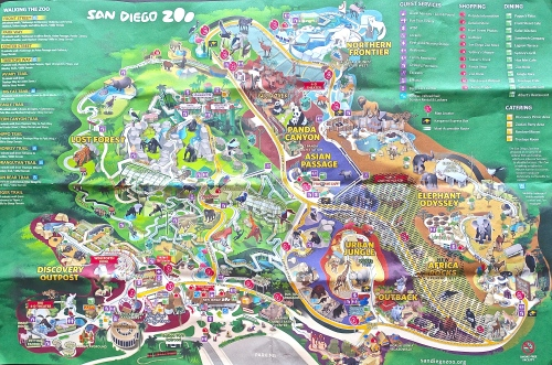 Optimus 5 Search - Image - map to san diego zoo