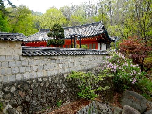Temple in Bukhansan Park