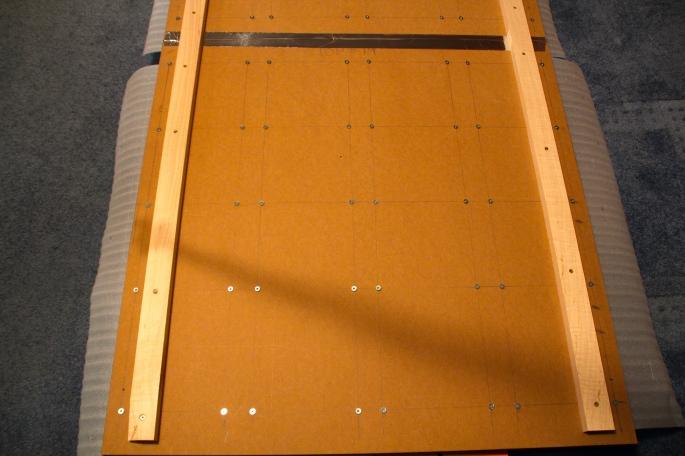 Back of frames