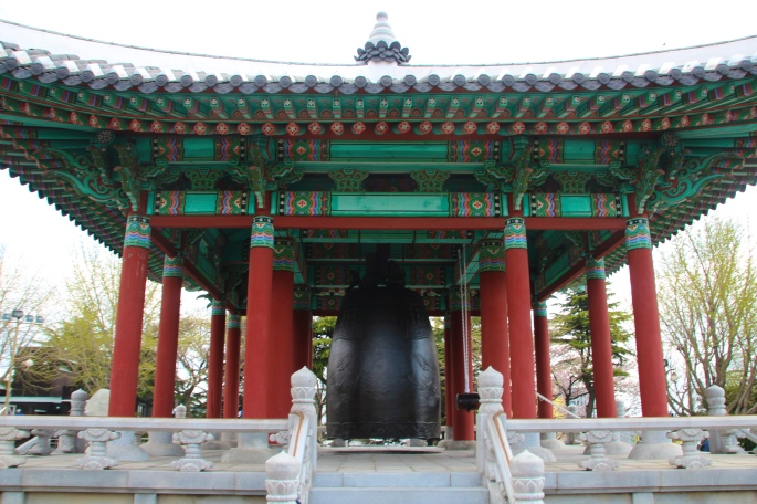Bell Shrine in Yongdusan Park