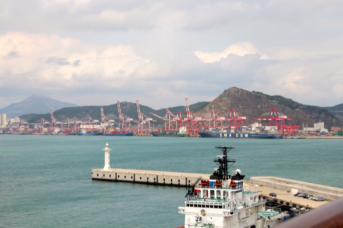 Busan. 5 largest container port in world