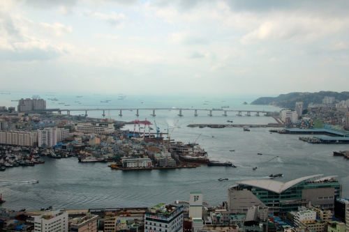 Busan View from Tower