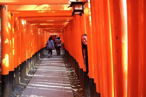 Fushimi Inari Taisha (伏見稲荷大社?)inside