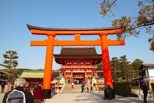 Fushimi Inari Taisha (伏見稲荷大社?)Main Gate