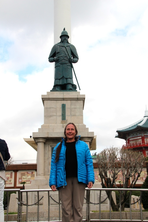 Kathi in Yongdusan Park