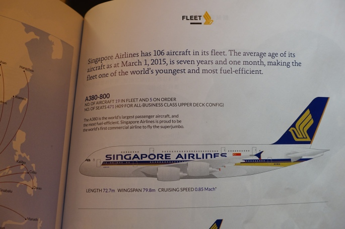 Specs on Airbus 380