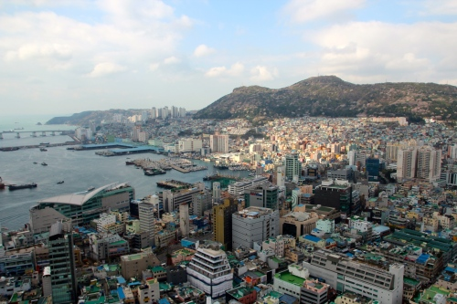 View of Busan from Busan Tower 2