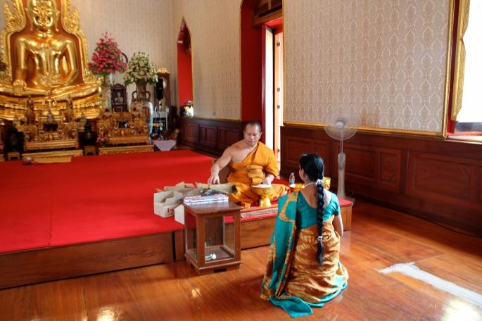 Altar for Buddha