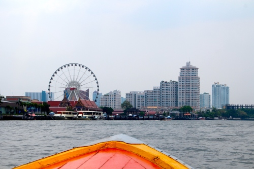 Bangkok City Center from Chao Phraya River
