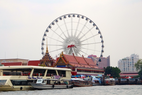 Bangkok from Chao Phraya River 2